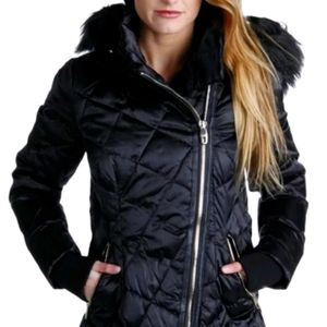 Steve Madden Womens M Quilted Lined Jacket NEW